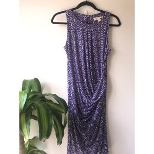 Michael Kors Sleeveless Dress Purple Size Small
